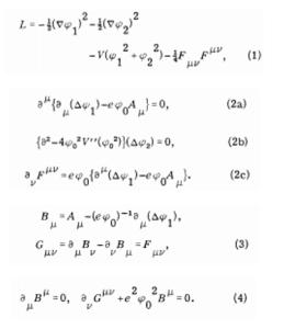 Partikel Higgs Boson Equation Persamaan