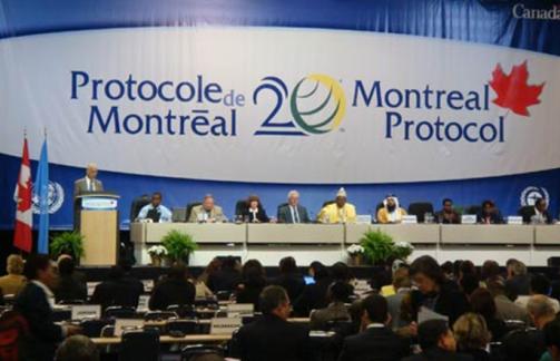 Susana Protokol Montreal Untuk Menghapuskan CFC dan HCFC