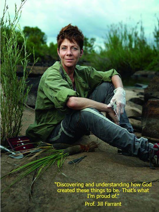 Prof. Jill Farrant - Sang Profesor Tanaman